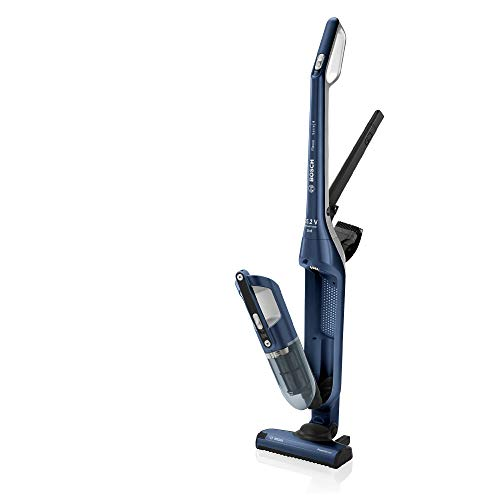Bosch BCH3P255 Flexxo Serie | 4 Aspirador 2 en 1, sin cable y de mano, 25.2 V, color Azul