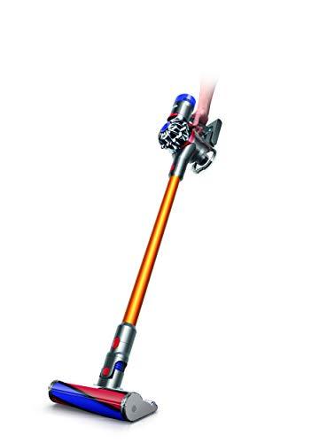 Dyson v8 absolute - Aspiradora Sin Cable Con 2 Funciones, Naranja, 2.04, autonomía de hasta 40 minutos