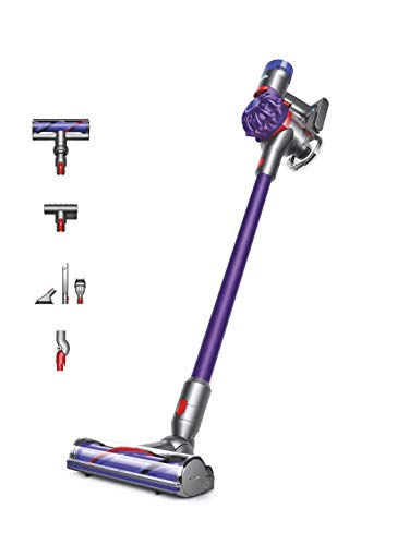 Dyson V7 Animal - Aspiradora de Mano inalámbrica, Color Morado, Mediano