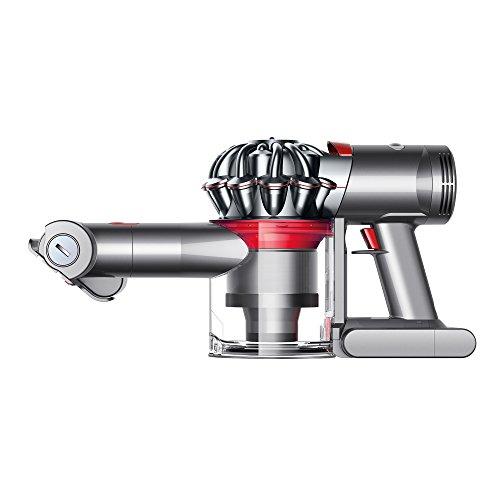 Dyson Dyson V7 Trigger Cord Free Handheld Vacuum Tapones para los oídos, 12 cm, Multicolor (gris / rojo)