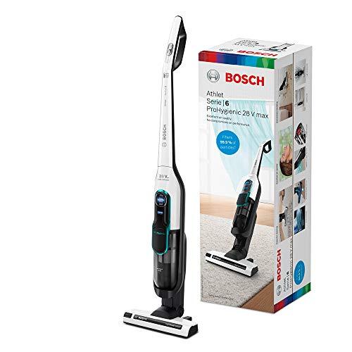 Bosch Athlet ProHygienic Serie | 6 BCH86HYG2 - Aspiradora sin cable, hasta 60 minutos de autonomía, color blanco