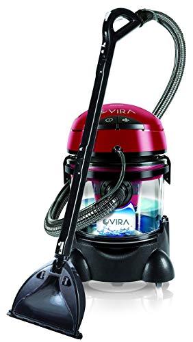 MPM MOD-22 Lava-aspiradora con Limpiador de Tapiceria, Coche, Alfombras, Colchones, Aspiradora en Humedo y Seco, Depósito de 10 litros Residuos, Depósito Detergente 4,5 litros, 2400W
