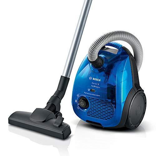 Bosch BGL2UK438 Serie | 2 - Aspirador dual con y sin bolsa, Con filtro higiénico, 550 W, color azul
