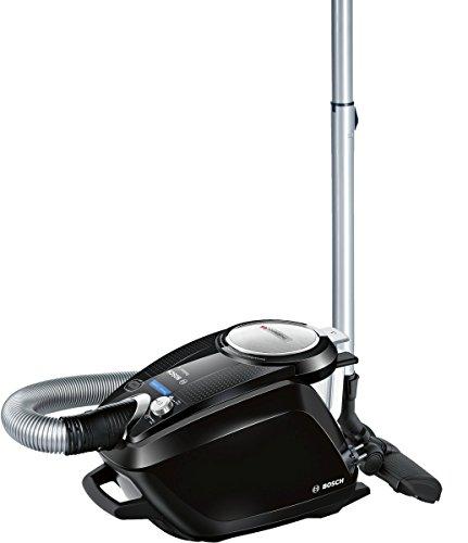Bosch BGS5SIL66B Relaxx'x ProSilence Aspirador sin bolsa silencioso, 700 W, color negro