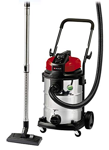 Einhell Expert 2342363 Aspirador seco/ liquido TE-VC 2230 SA de tipo industrial, 1150 W, 30 L, color plateado